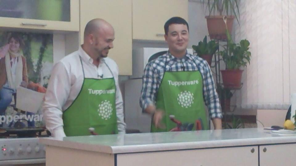 Guerino Papa guest at Cooking Show on Atyrau TV Channel [VIDEO]